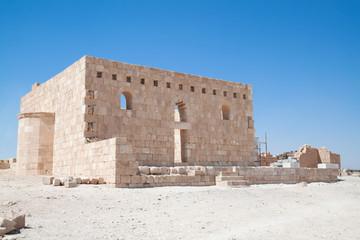 Qasr Al Hallabat desert castle