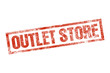 OUTLET STORE stempel