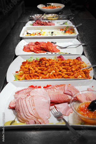 Buffet trays