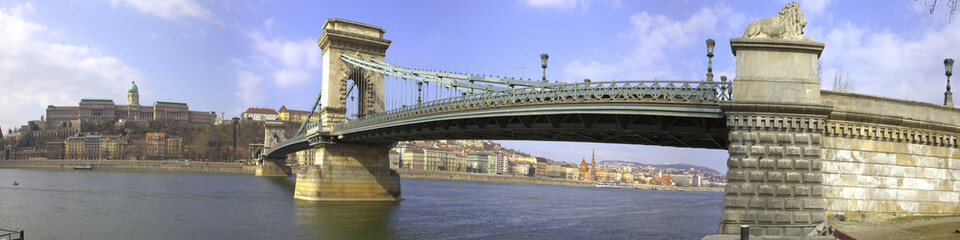 Budapest Panoramica Ponte