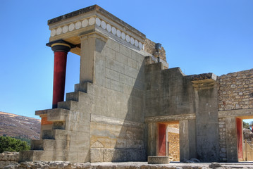 Knossos - Minoan Palace on Crete