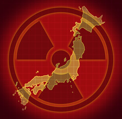 Japan radiation radioactive nuclear fallout Japanese disaster