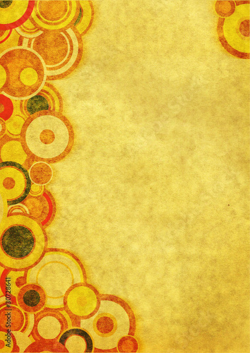 Grunge wallpaper with circles