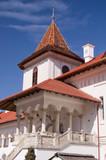 Monastery in Transylvania Romania poster