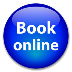 """BOOK ONLINE"" Web Button (order now e-booking cursor click here)"