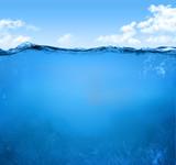 Fototapety underwater scene