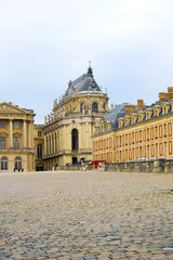 Royal cathedral of Versailles Palace, France