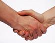 kräftiger Handschlag