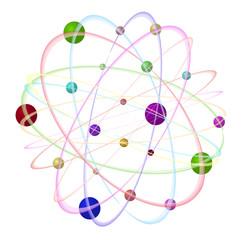 3D - atom