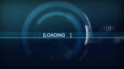 Computer interface - Loading