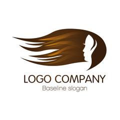 logo coiffure, beauté, esthétique, soin