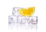 Zitrone auf Eis