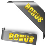 BONUS button set gold