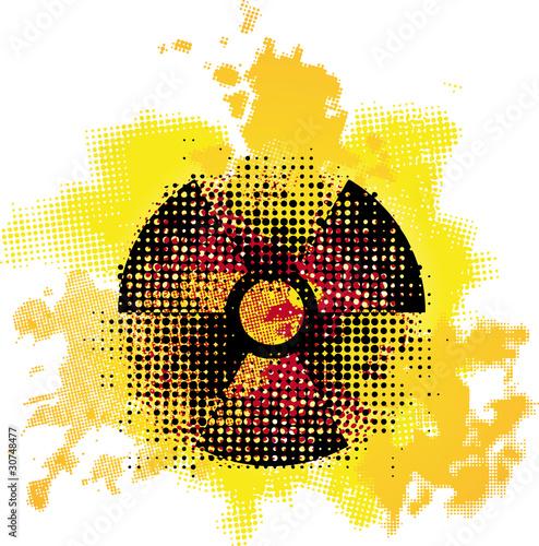 simbolo radioattività - 30748477