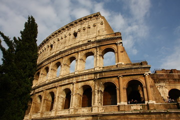 Roma, il Colosseo