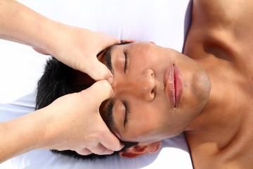 chakras third eye massage ancient Maya therapy