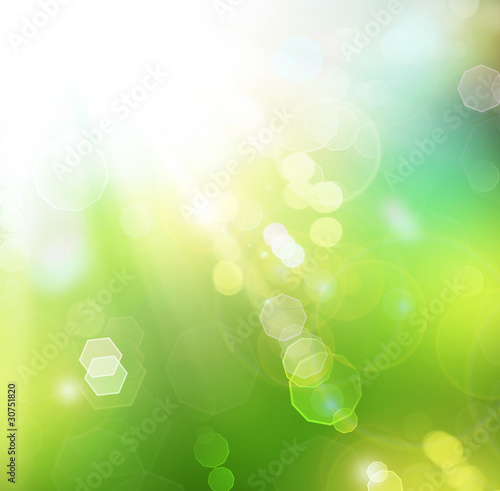 Beautiful Nature Spring Background