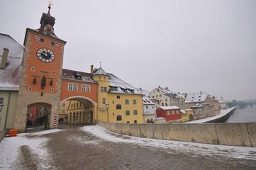 Brucktor City Gate, Regensburg