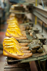 Footwear production