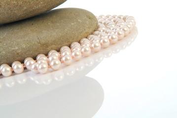 Harmonie - Perlen und Stein