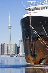 Ship in Toronto