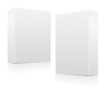 Clear white boxes