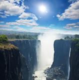 Fototapety Victoria waterfall