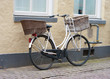 bicycle with double basket
