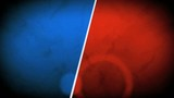 Red blue template abstract background animation
