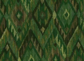 Textile tissé à motifs  géométriques.