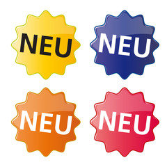 Neu Button Set
