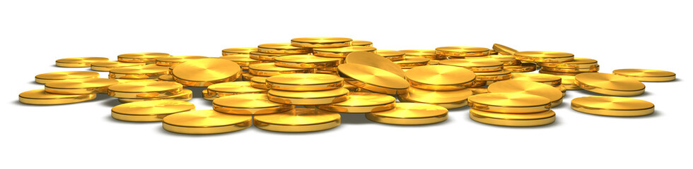 Goldmünzen - Motiv 1 - frontal