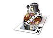 Roi de trèfle - Sortir da la carte