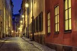 Fototapety Old Town illumination