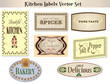 Kitchen Labels 2