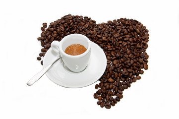 Una tazzina di caffè-A cup of coffee