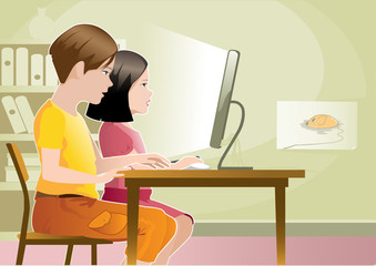 kids and internet