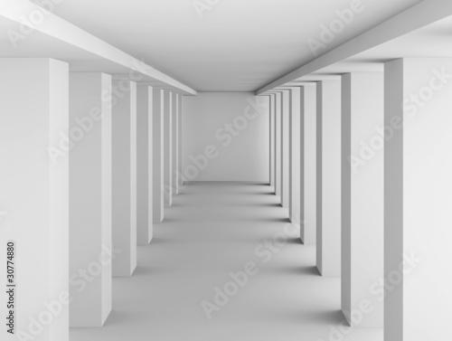Naklejka Columns Hall