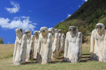 Statues du Mémorial