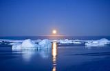 Summer night in Antarctica
