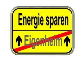 Eigenheim - Energie sparen