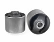 Bushing (isolator) rubber-metal on white background