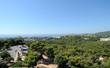 Vue sur Palma depuis le château de Bellver à Palma de Majorque