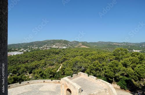 Barbacane du château de Bellver à Palma de Majorque