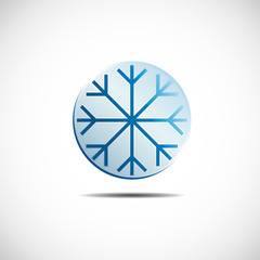 Logo Ice Icon # Vector