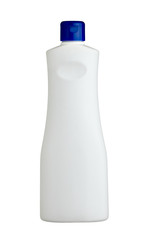 white sanitary bottle product