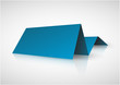 Blue paper tag for important information