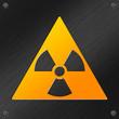 blechschild radioaktiv