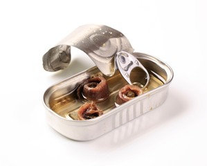 Tin of anchovies