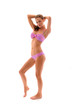 sexy girl standing in bikini